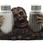 Zombie Salt and Pepper Shaker Set