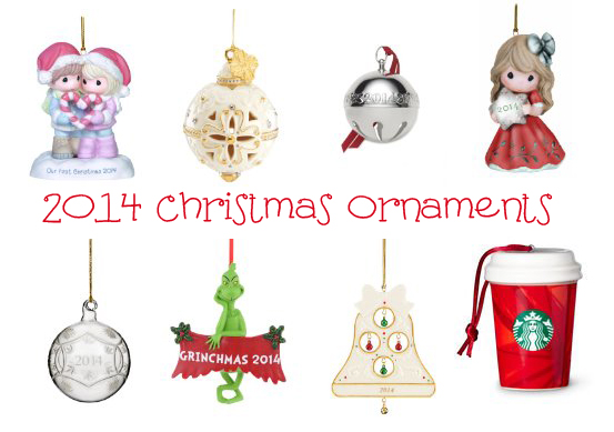 2014 Christmas Ornaments For Your Tree - SheSaved®