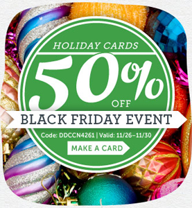 Cardstore.com Save 50% Off ALL Holiday Cards
