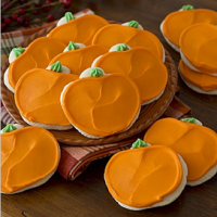 Cheryl's Save 60% Off Buttercream Frosted Pumpkin Cookies