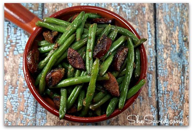 Garlic Green Beans & Andouille Sausage Recipe 2