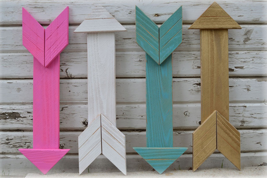 wood arrows decor 2
