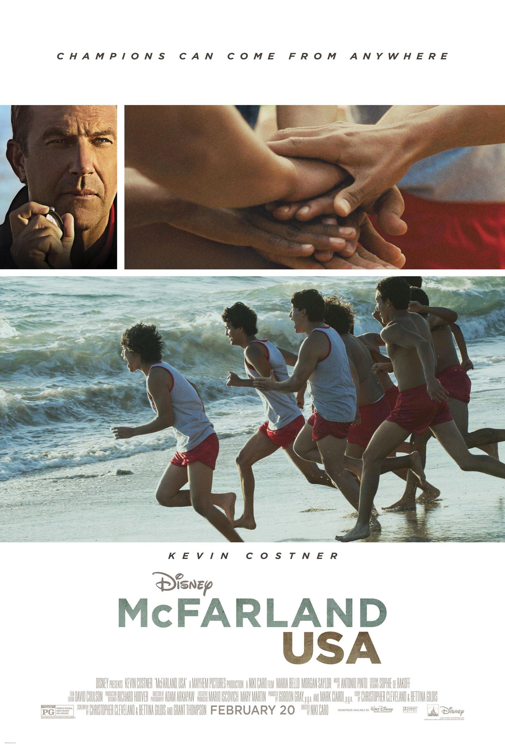 Disney's McFarland, USA Poster & Trailer