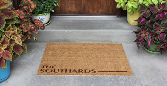 Personalized Door Mats