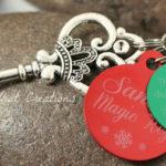 Personalized Magic Santa Key