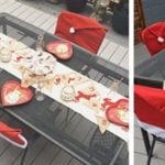 Santa Hat Chair Slipcovers