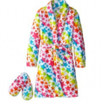 Sleep & Co Girl's Bathrobe and Slipper Set