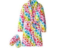 Sleep & Co Girl's Bathrobe and Slipper Set For $14 Shipped