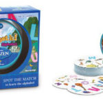 Spot it! Disney Frozen Alphabet Game