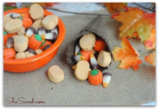 Thanksgiving Cornucopia Snack Mix 2