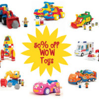 WOW Toys Save 50% Off