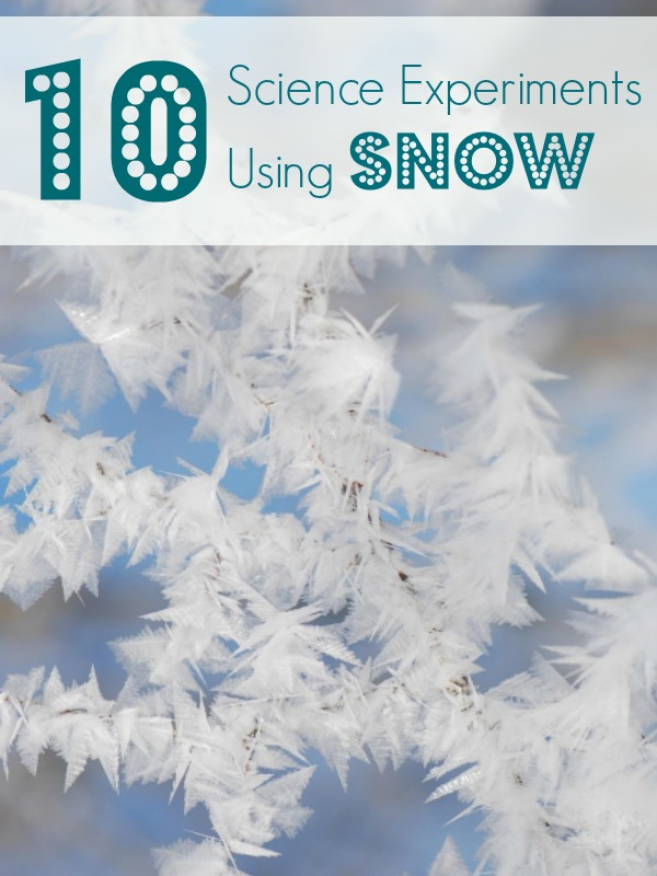 10 Snow Science Experiments