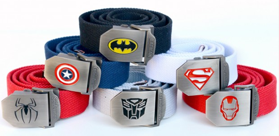 Adult Superhero Belts
