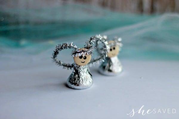 Angel Kiss Ornament Craft