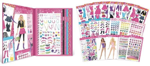 Barbie Sticker Stylist For $11.22 Shipped
