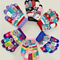 Children's Snowflake Gloves For $2.99