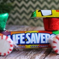 Lifesaver Candy Train Craft
