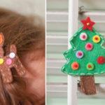 Christmas Hair Clips