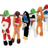 Christmas Plush Set of 12 For $17.99 Shipped