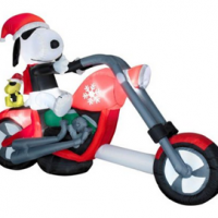 Christmas Snoopy Inflatable For $89.99 Shipped