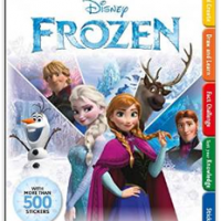 Disney Frozen Activity Book $9.53 Shipped