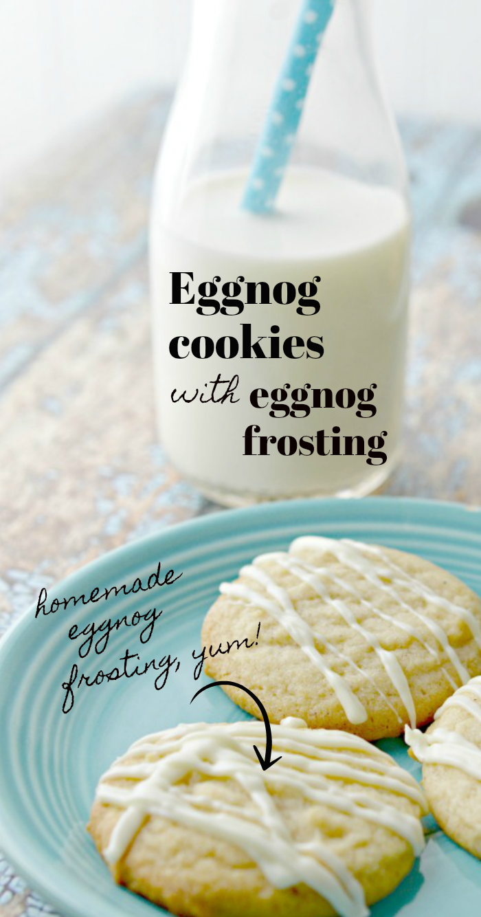 How to make homemade Eggnog Cookies and Frosting