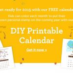 FREE DIY Printable Calendar