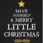 FREE Merry Little Christmas Digital Print