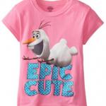 Frozen Girls Olaf Tee