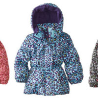 Girls Cheetah Puffer Jacket For $11.99 Shipped After Coupon