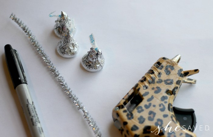Hershey Kiss Ornament Craft