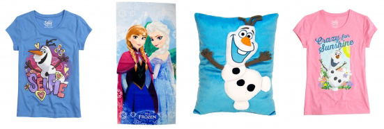 Justice Save 50% Off Disney's Frozen Products + Up To 80% Off Clearance