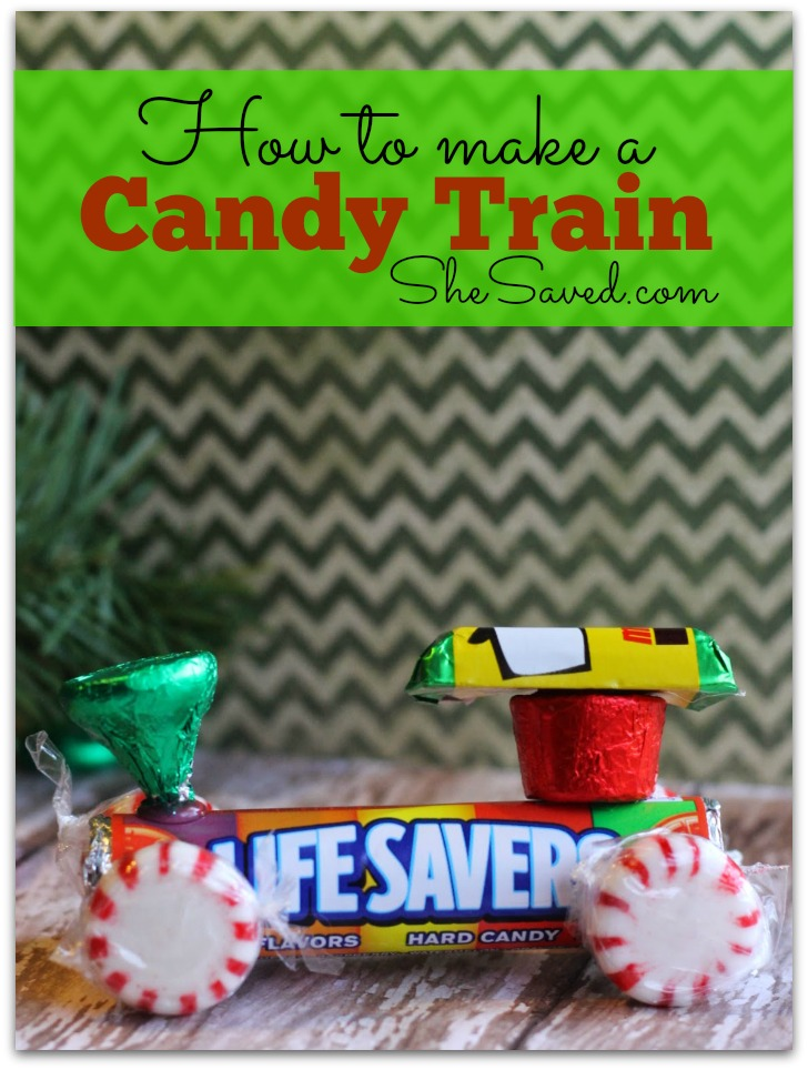 Christmas Lifesaver Candy Train Craft