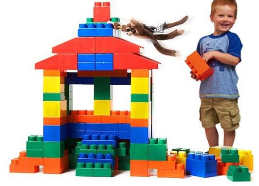 Little Box Mighty Big Blocks 100-Piece Jumbo Set For $59.99 + FREE Shipping