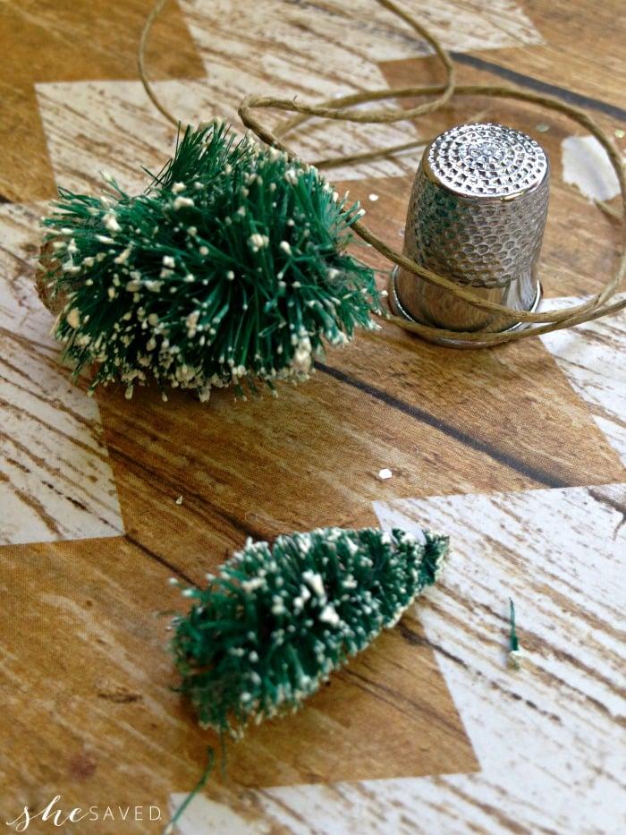 Making Vintage Christmas Ornaments