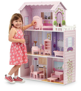 Mansion Wooden Doll House