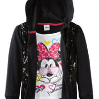 Minnie Mouse Sequin Hoodie For $10.15 Shipped