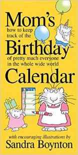 Mom's Birthday Calendar