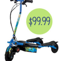 Razor Blue Trikke E2 Electric Scooter For $99.99