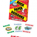 Rock Paper Scissors Card Game For $6.33 Shipped