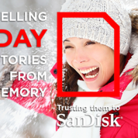 SanDisk Holiday Sweepstakes