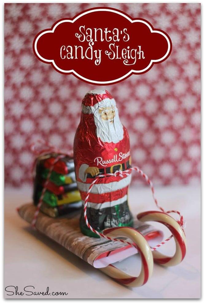 Candy Santa Sled
