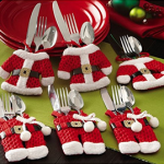 Santa Silverware Holders For $10.48 Shipped