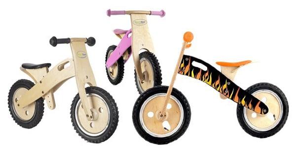 Smart Gear Wooden Balance Bikes For $49.99
