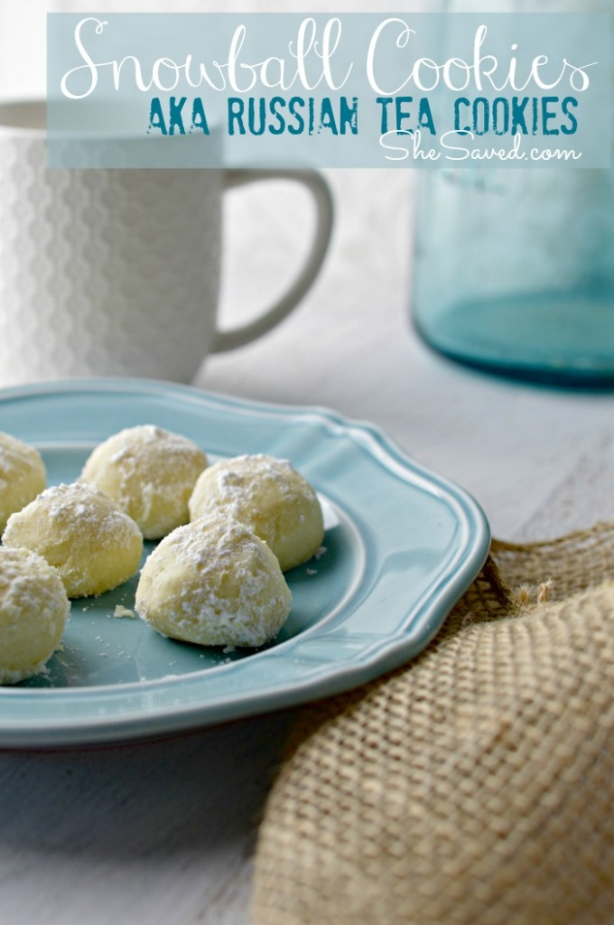 Snowball Cookies are one of our favorite Christmas Cookies. Also known as Russian tea cookies, they are sure to become a family favorite!