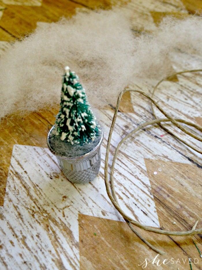 Tiny Tree Ornament