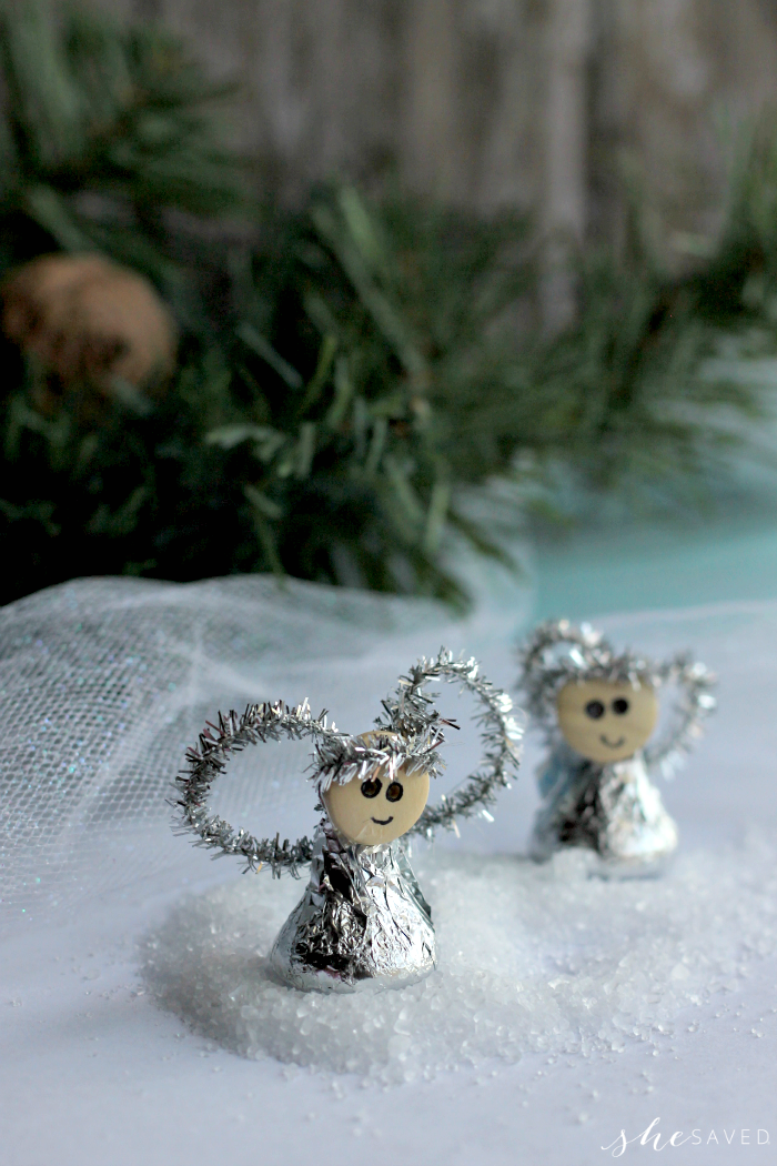 angel kiss ornaments