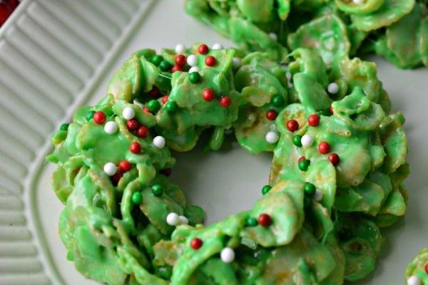 cornflake wreath recipe
