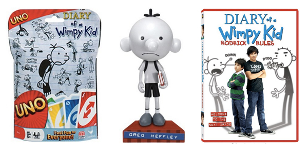 Diary of a Wimpy Kid Gift Ideas