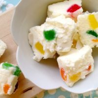 White Gumdrop Fudge Recipe